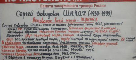 Шпрах плакат